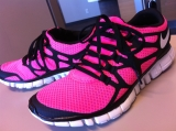 Racking up the Miles in Nike Free3.0s